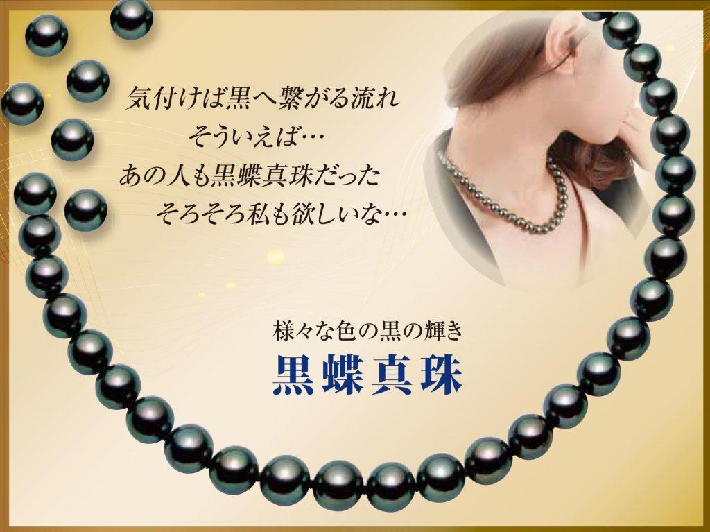 黒蝶真珠 ブラックパール